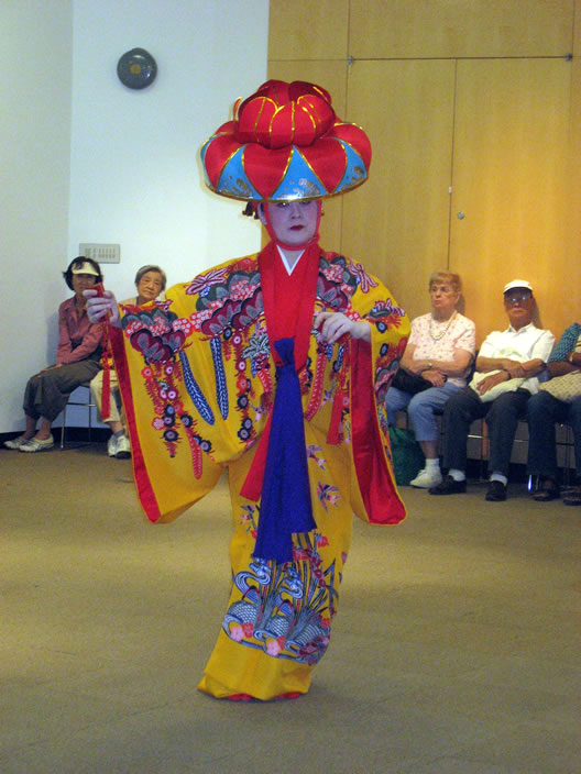 Junko at the Queens Library in Flushing, NY. Photo by LFisher
